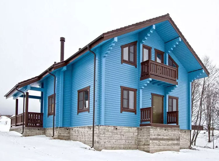 покраска дома